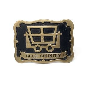 Vintage Rare Diablo GOLD COUNTRY Belt Buckle